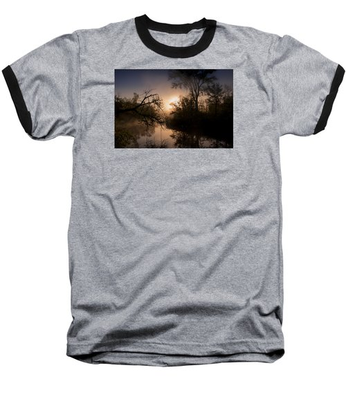 Baseball T-Shirt featuring the photograph Peaceful Calm by Annette Berglund