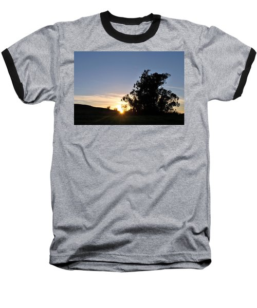 Baseball T-Shirt featuring the photograph Peaceful Country Sunset  by Matt Harang