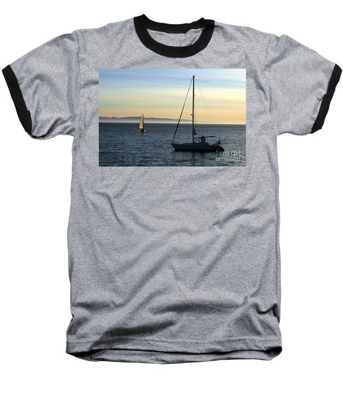 Peaceful Day In Santa Barbara Baseball T-Shirt