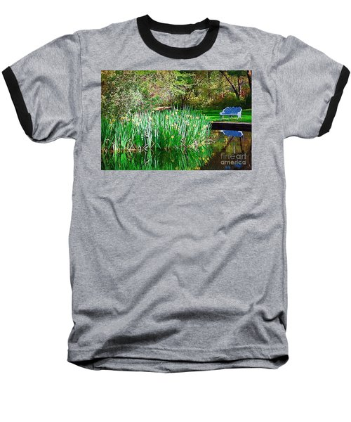 Baseball T-Shirt featuring the photograph Peaceful by Donna Bentley