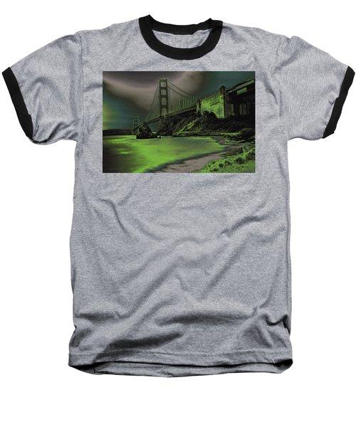 Peaceful Eerie Feeling Baseball T-Shirt