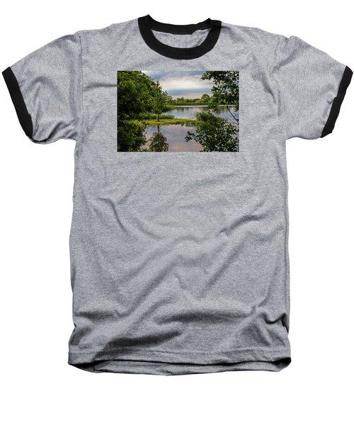Peaceful Evening Baseball T-Shirt