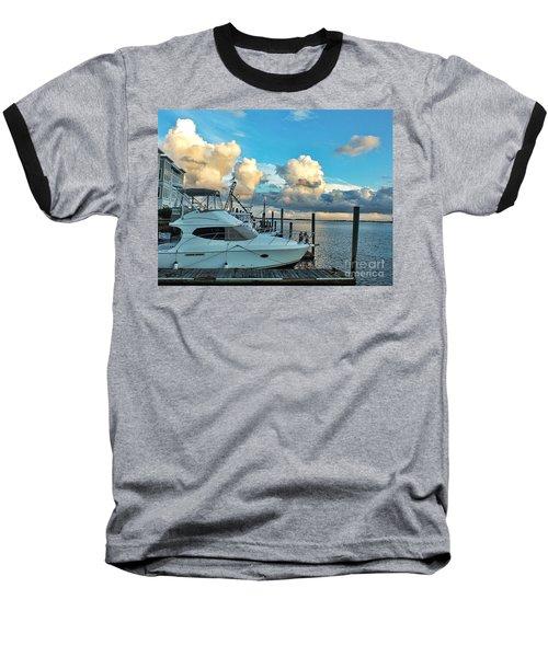 Peaceful Evening Walk  Baseball T-Shirt by Christy Ricafrente