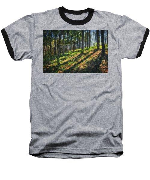 Peaceful Forest 4 - Spring At Retzer Nature Center Baseball T-Shirt by Jennifer Rondinelli Reilly - Fine Art Photography