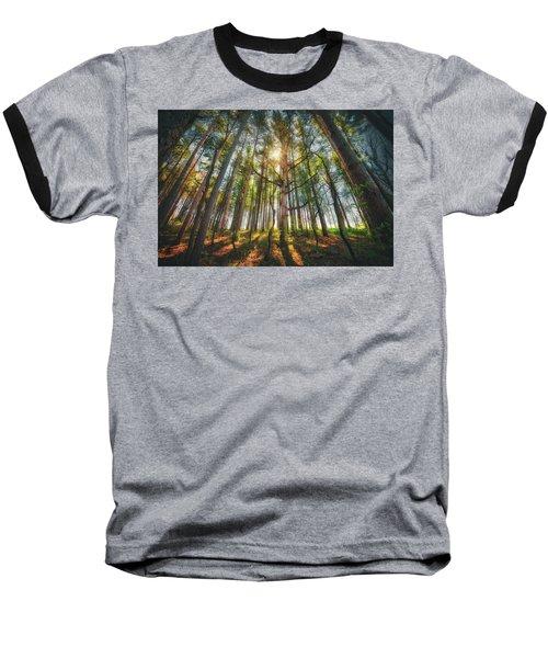 Peaceful Forest 5 - Spring At Retzer Nature Center Baseball T-Shirt by Jennifer Rondinelli Reilly - Fine Art Photography