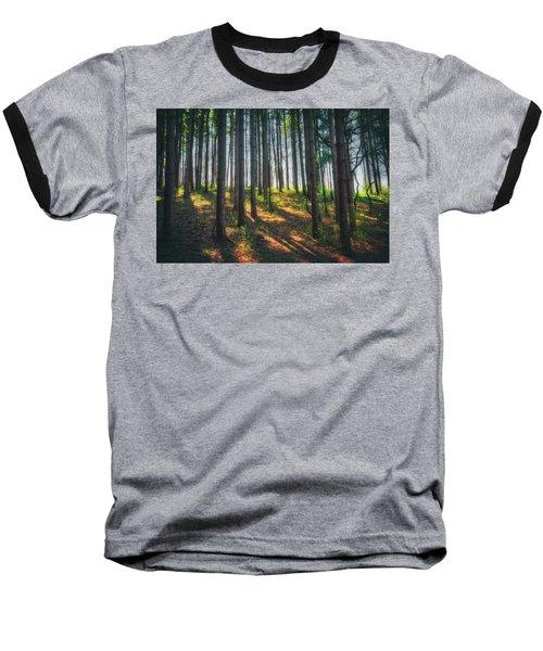 Peaceful Forest - Spring At Retzer Nature Center Baseball T-Shirt by Jennifer Rondinelli Reilly - Fine Art Photography
