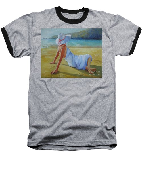 Peaceful Moments Baseball T-Shirt