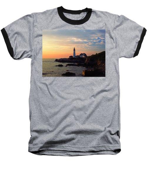 Peaceful Mornings Baseball T-Shirt