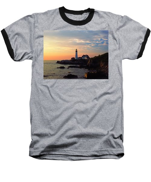 Peaceful Mornings Baseball T-Shirt