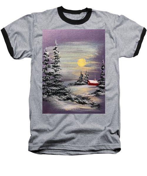 Peaceful Night Baseball T-Shirt