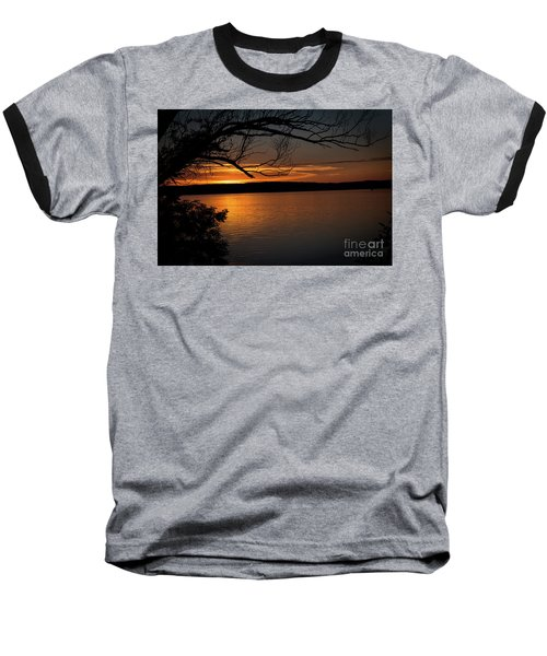 Baseball T-Shirt featuring the photograph Peaceful Nights by Deborah Klubertanz