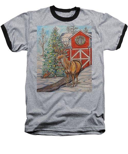 Peaceful Noel Baseball T-Shirt