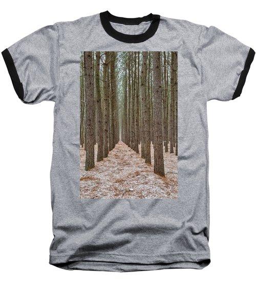 Peaceful Pines Baseball T-Shirt