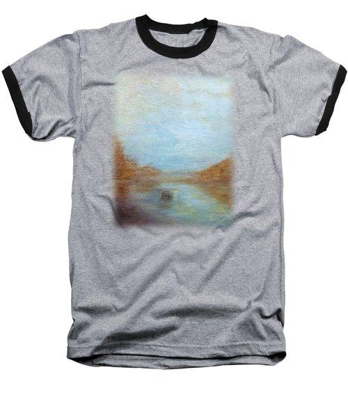 Peaceful Pond Baseball T-Shirt