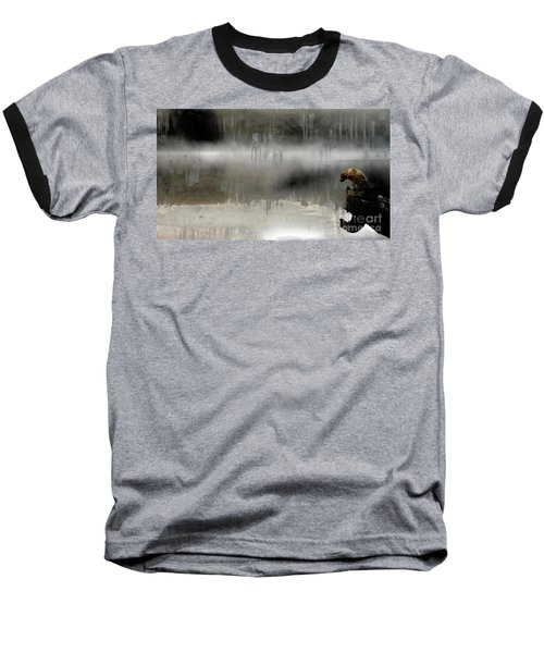 Peaceful Reflection Baseball T-Shirt