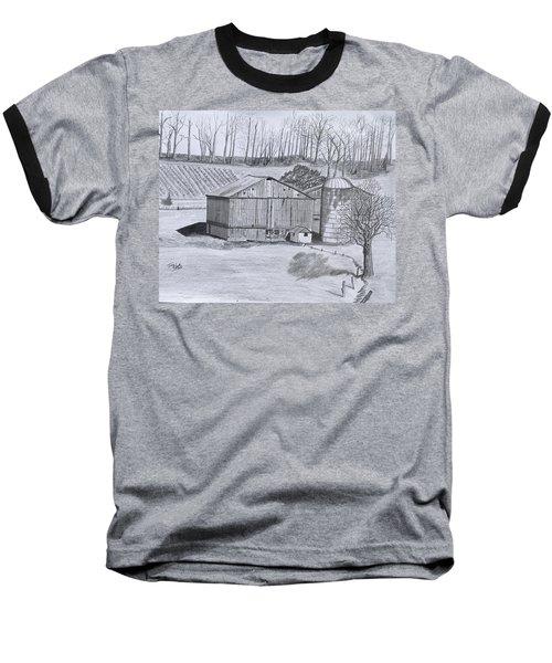 Peaceful Setting  Baseball T-Shirt by Tony Clark