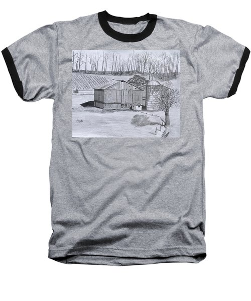 Peaceful Setting  Baseball T-Shirt