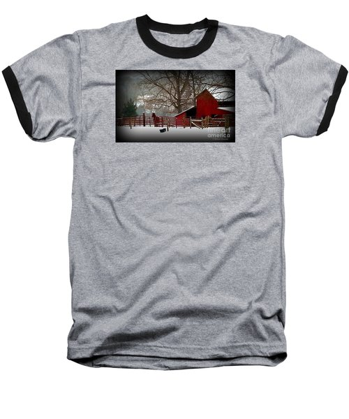 Peaceful Silence Baseball T-Shirt