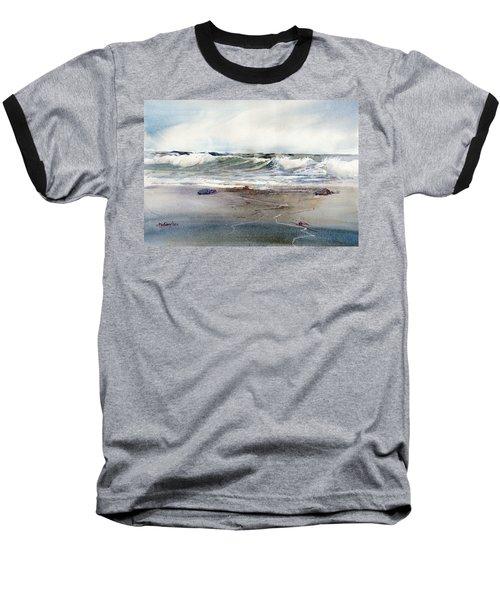 Peaceful Surf Baseball T-Shirt