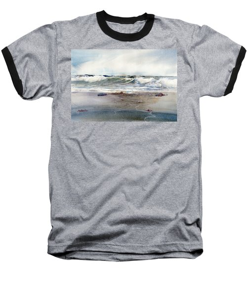 Peaceful Surf Baseball T-Shirt