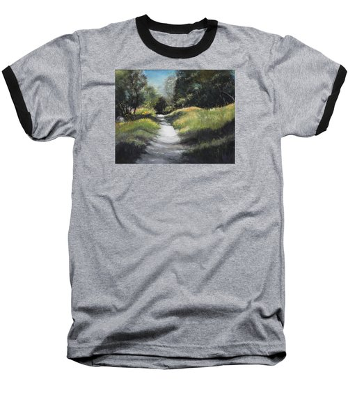 Peaceful Walk In The Foothills Baseball T-Shirt