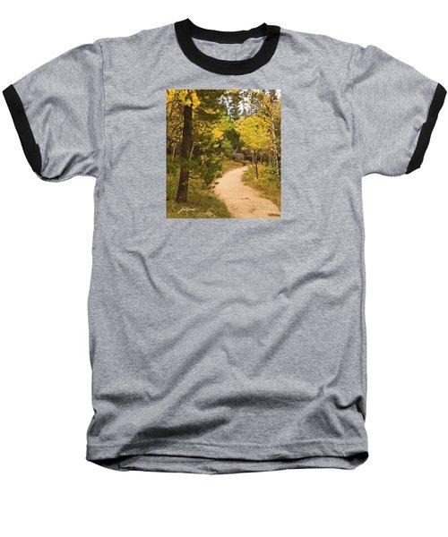 Peaceful Walk Baseball T-Shirt