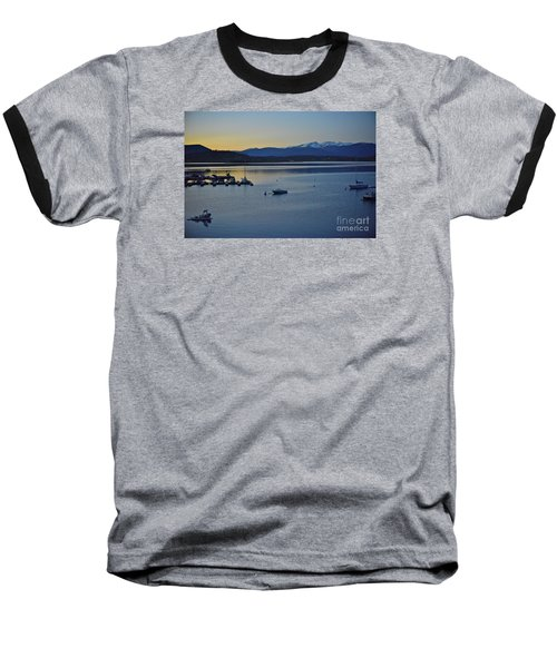 Peaceful Waters Baseball T-Shirt