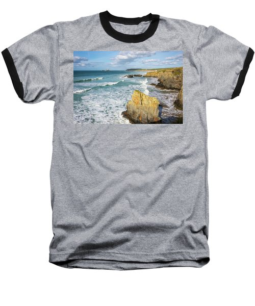 Peaceful Waves Baseball T-Shirt