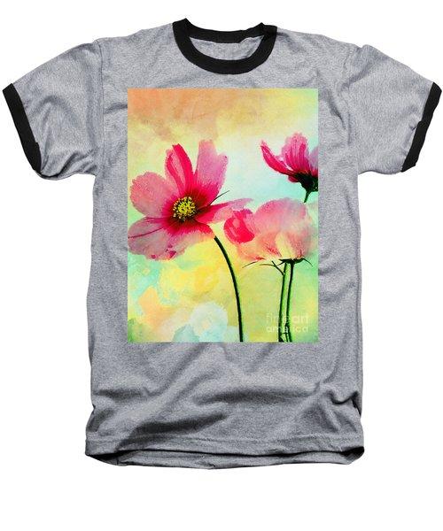 Peacefulness Baseball T-Shirt by Klara Acel