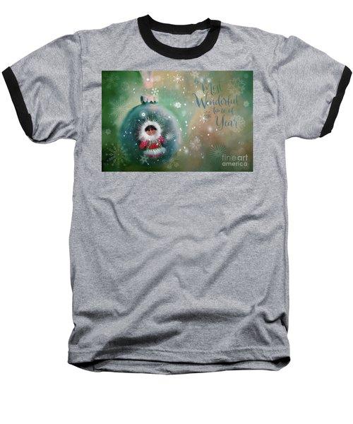 Peace,love,joy Baseball T-Shirt