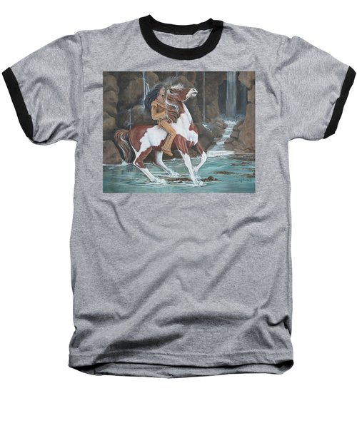 Peacemaker's Ride Baseball T-Shirt