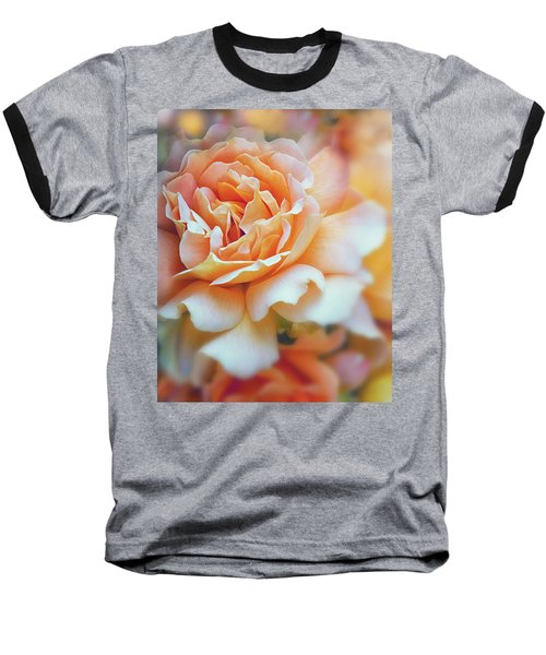 Peach Delight Baseball T-Shirt