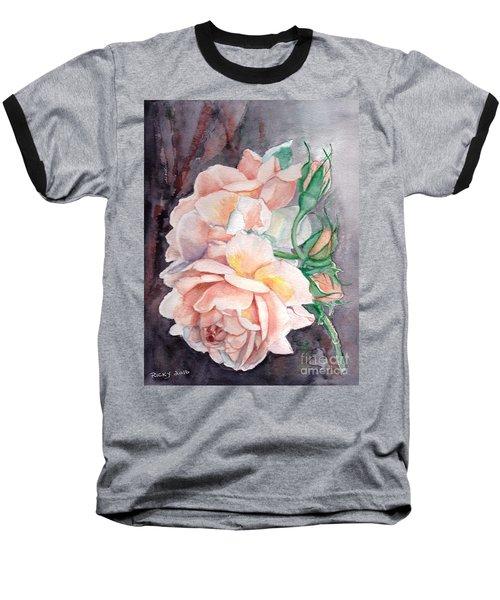 Peach Perfect - Painting Baseball T-Shirt