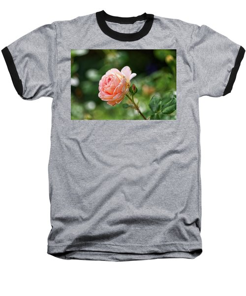 Peach Petals Baseball T-Shirt
