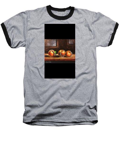 Peaches  Baseball T-Shirt