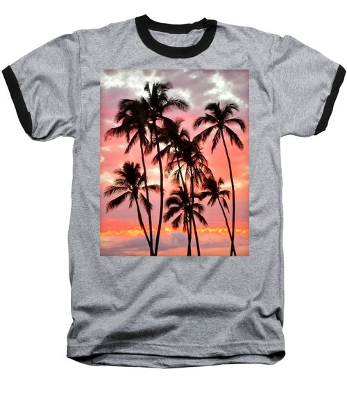 Peachy Palms Baseball T-Shirt