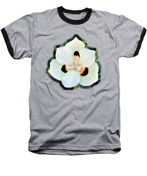 Peacock Flower T-shirt Baseball T-Shirt