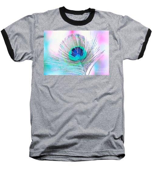 Peacock Pride Baseball T-Shirt