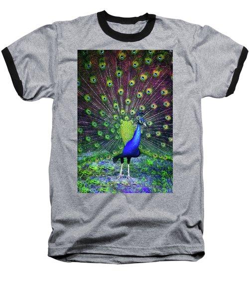 Peacock Series 9801 Baseball T-Shirt