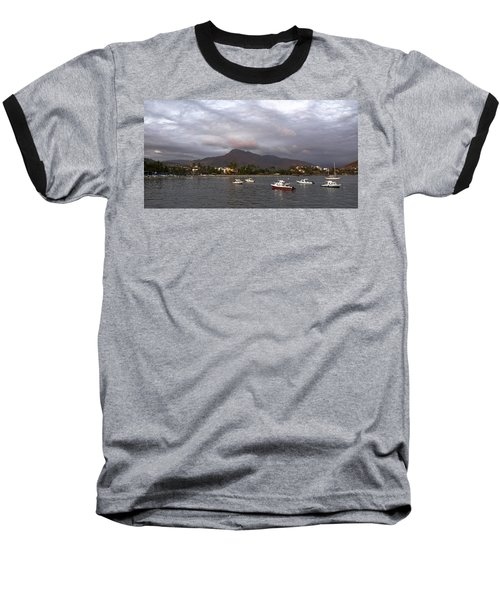 Peaceful Baseball T-Shirt by Jim Walls PhotoArtist
