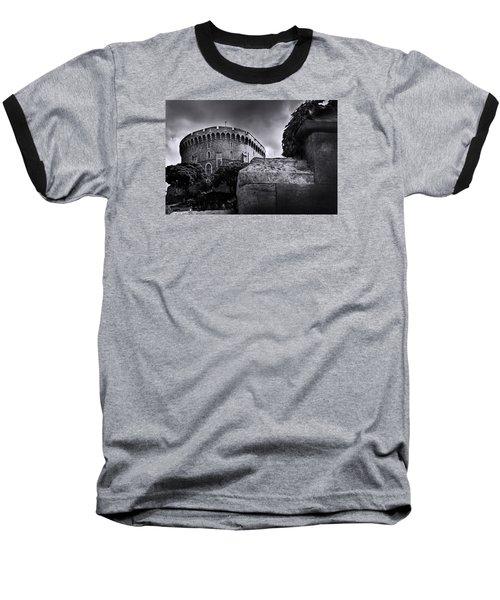 Peak At The Tower Baseball T-Shirt