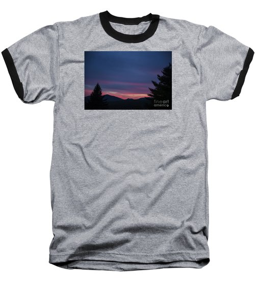 Baseball T-Shirt featuring the photograph Peaks by Alana Ranney
