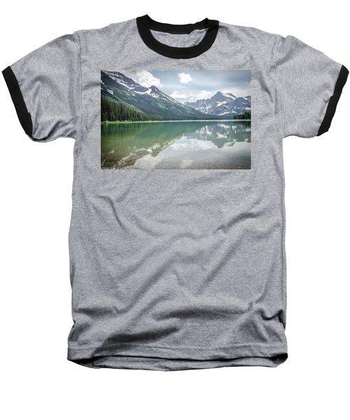 Peaks At Lake Josephine Baseball T-Shirt
