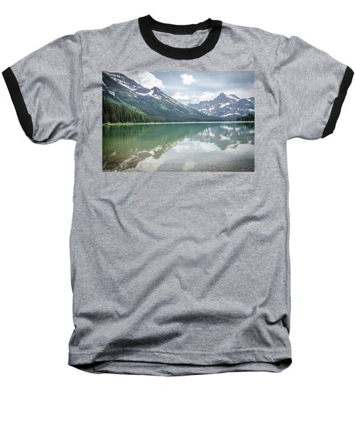Peaks At Lake Josephine Baseball T-Shirt