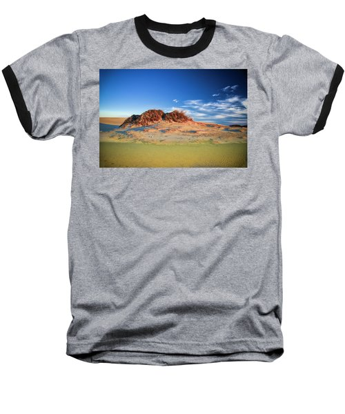 Peaks Of Jockey's Ridge Baseball T-Shirt
