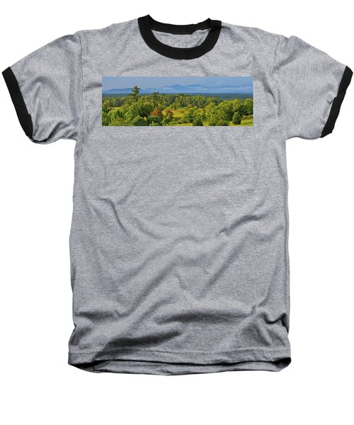 Peaks Of Otter After The Rain Baseball T-Shirt