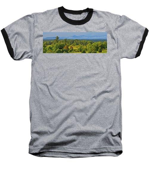 Peaks Of Otter After The Rain Baseball T-Shirt