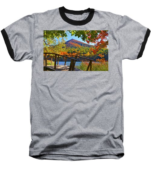 Peaks Of Otter Bridge Baseball T-Shirt