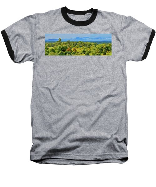 Peaks Of Otter Rainstorm Baseball T-Shirt