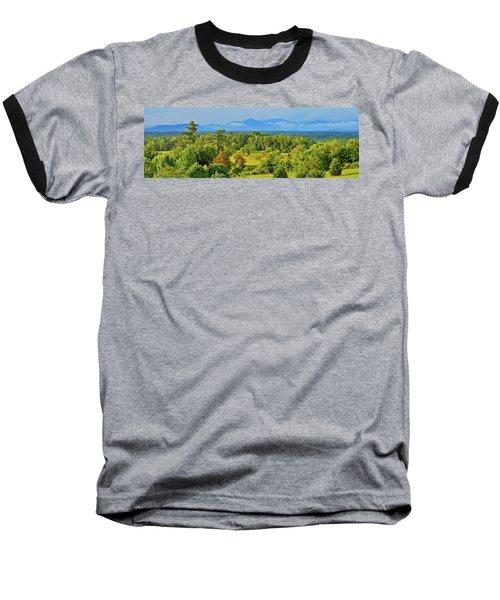 Peaks Of Otter Rainstorm Baseball T-Shirt